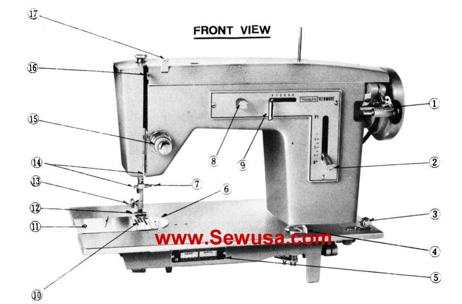 kenmore sewing machine troubleshooting