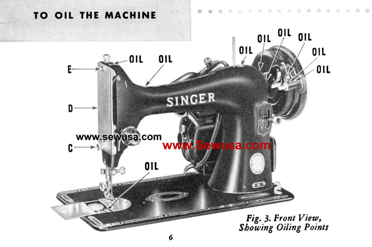 singer sewing machine repair manual pdf
