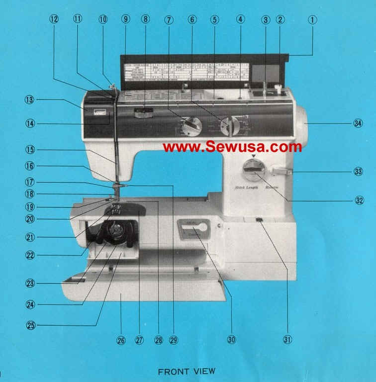PRINTED Montgomery Ward 1943 sewing machine manual (smm1145